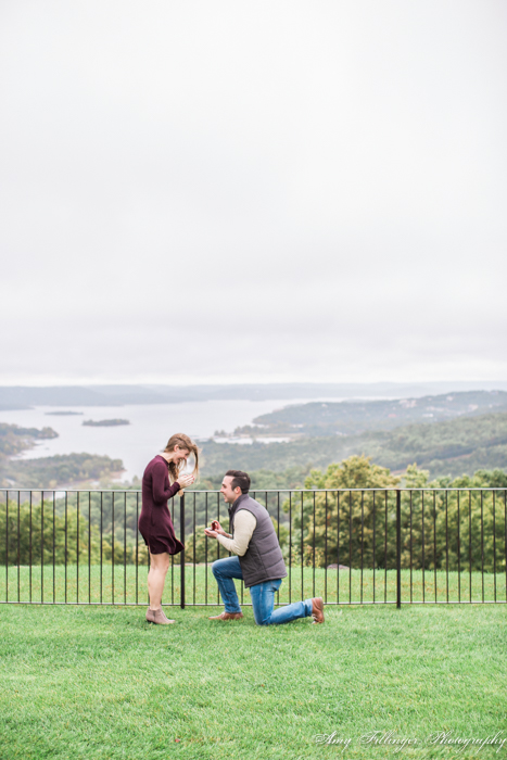 Brad & Rebecca's Top of the Rock Proposal. 4 reasons to hire a proposal photographer, why to hire a proposal photographer for this special time in your life! #proposalphotographer #proposalphotography #proposal #bransonproposal #bransonphotography #bransonphotographers #bransonweddingphotographer #whytohireaproposalphotographer