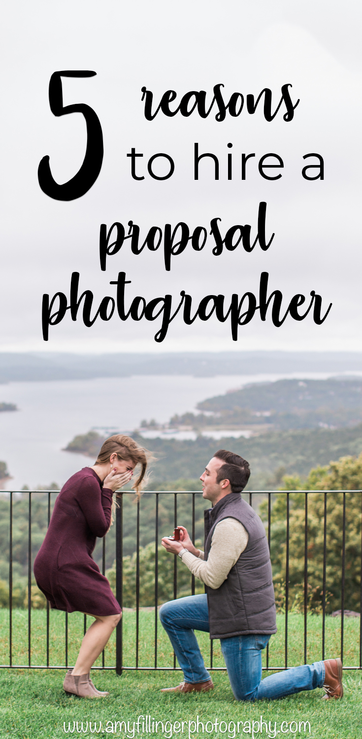 Why you need a photographer for your Branson Proposal