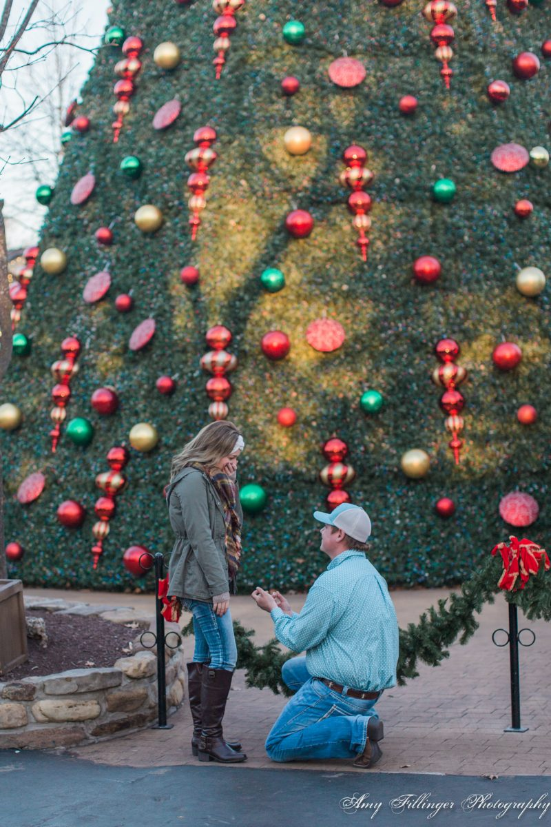Silver Dollar City proposal | Best places to propose in Branson | Branson proposal photographer