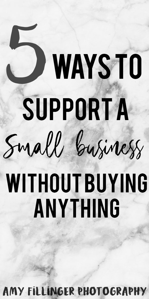How to support a small business. 5 ways to support a small business owner without buying their product or service. #smallbusinessowner #smallbusiness #photography #businesstips #businessadvice #smallbusinesstips