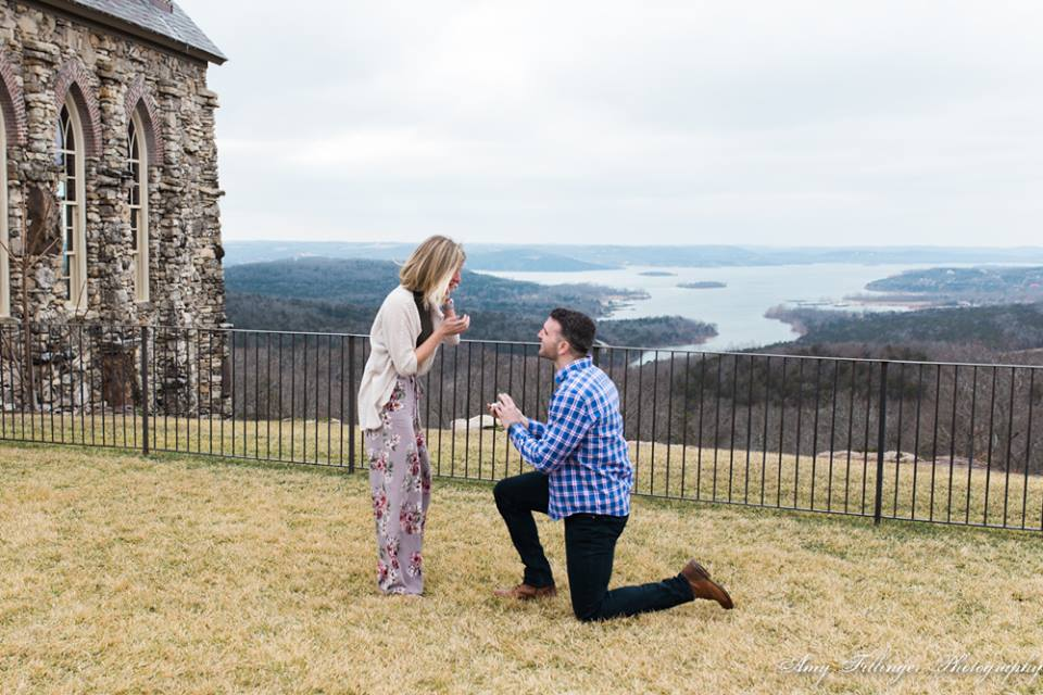 Branson proposal photographer