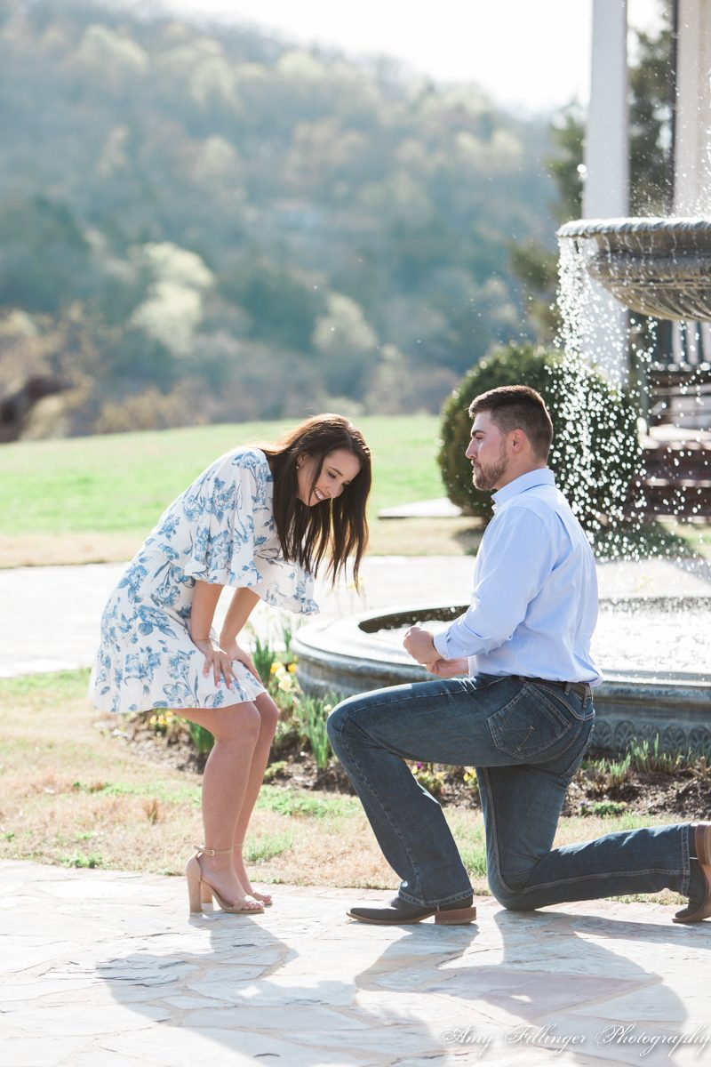 Branson proposal at Big Cedar Lodge by Branson Proposal Photographer Amy Fillinger Photography #bransonproposal #bransonmo #proposalideas #bigcedarproposal #proposalphotographerbranson