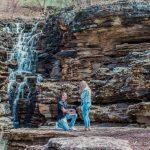 Khailon and Sam's Top of the Rock Proposal | Branson Photographer