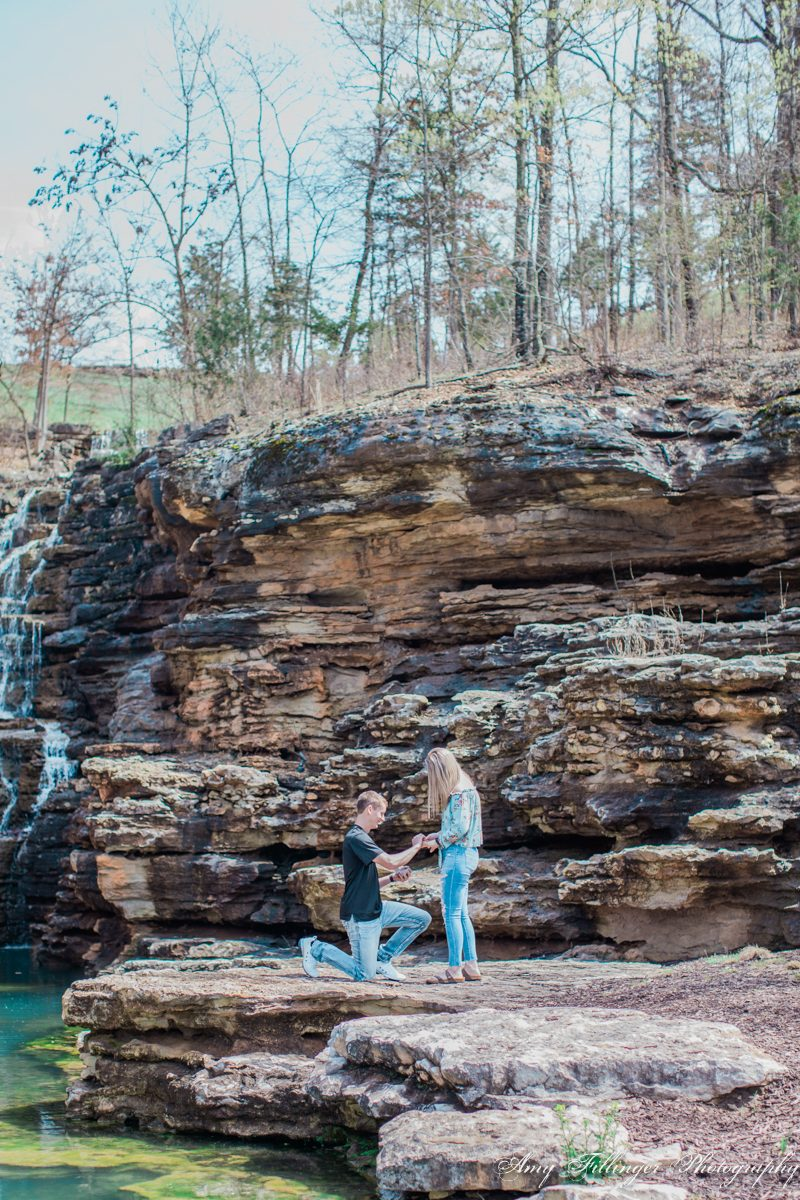 Khailon and Sam's Top of the Rock Proposal | Branson Photographer