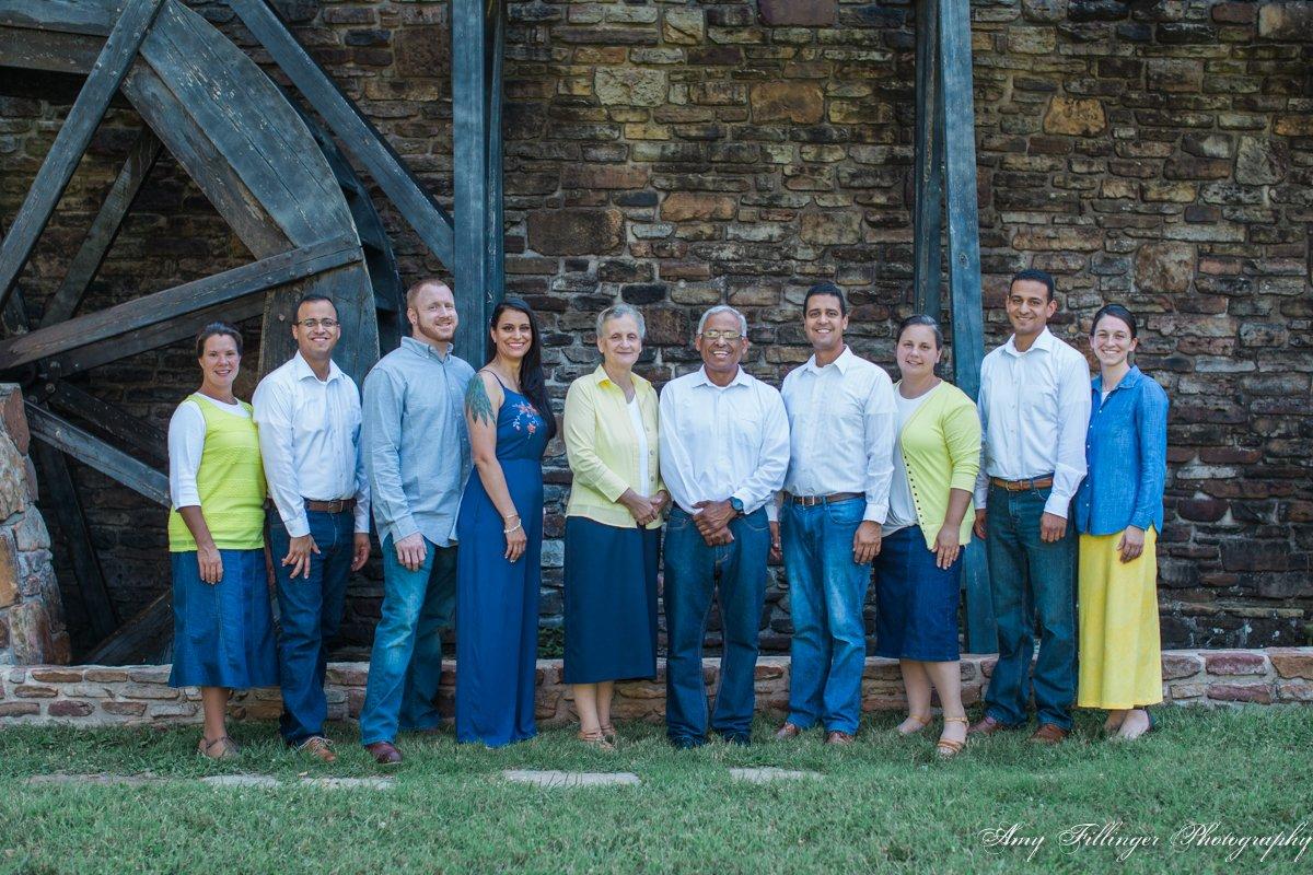 Branson extended family photographer