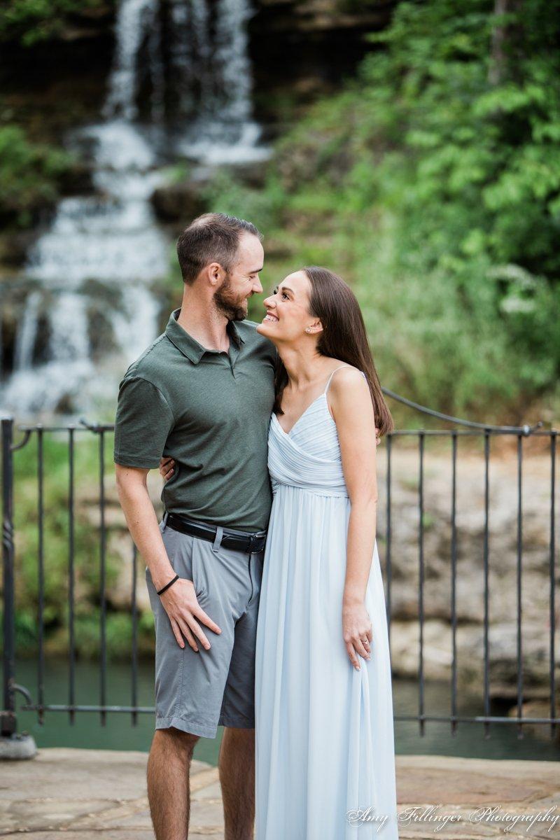 Dogwood Canyon Engagement | Branson proposal photographer