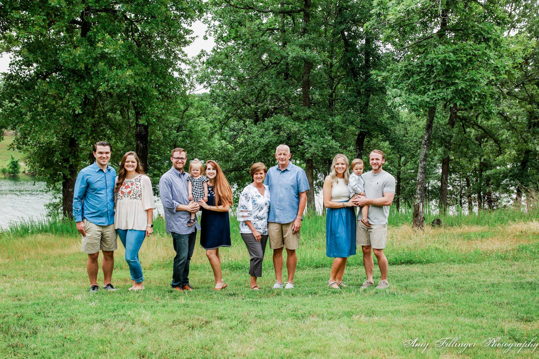 family photos in Branson