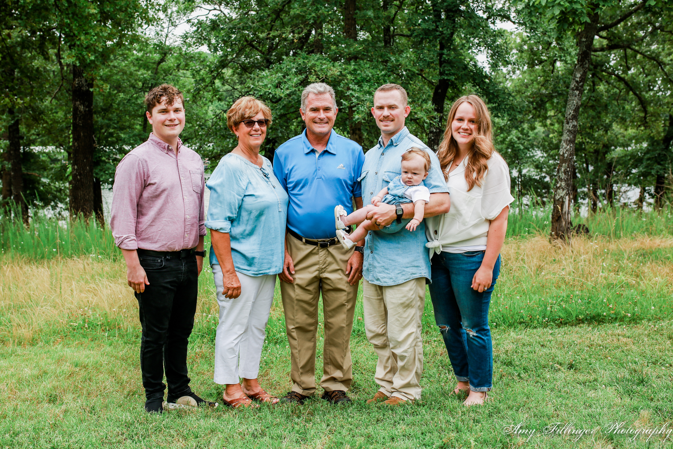 Branson extended family photos