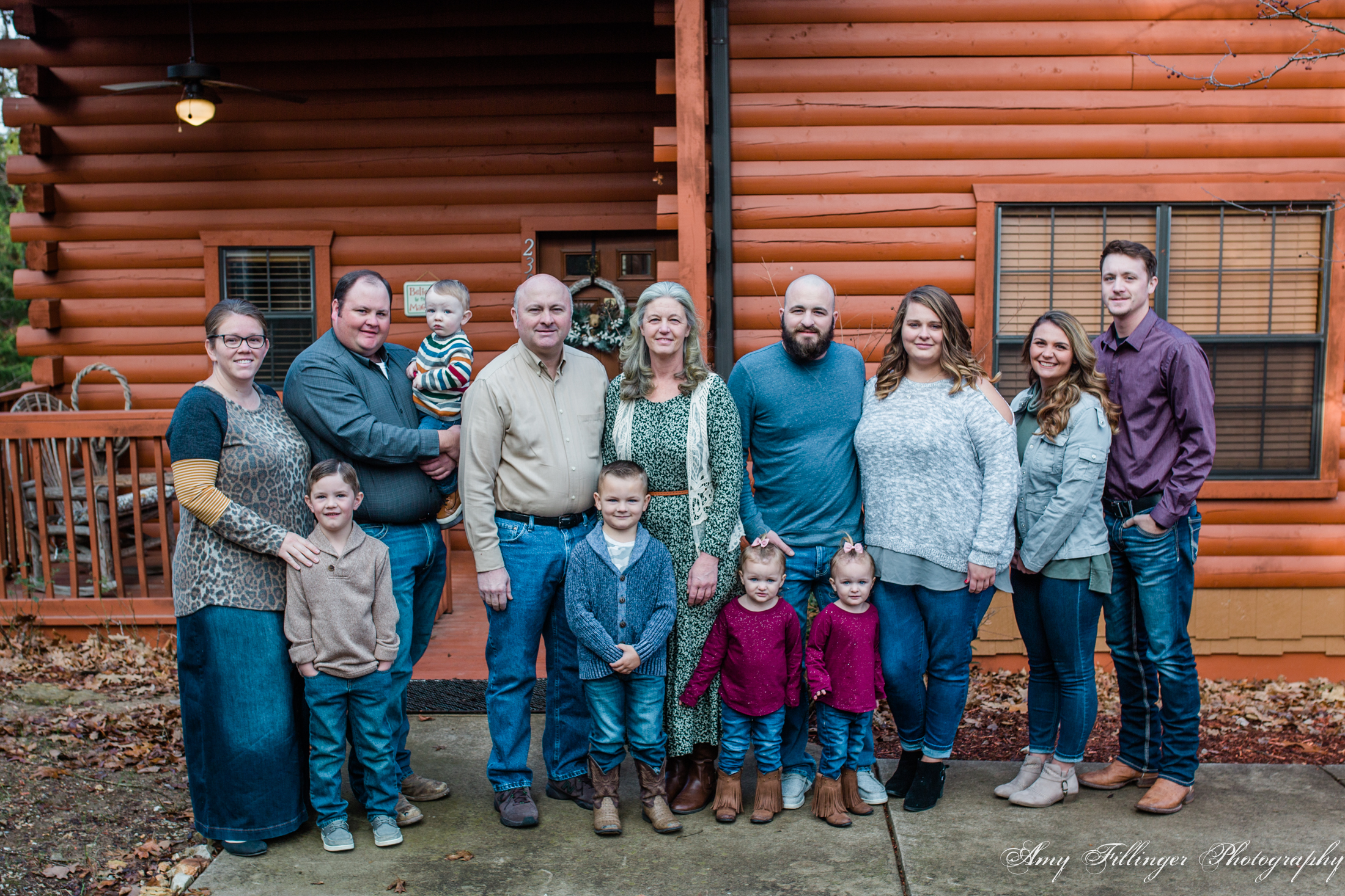 Branson extended family photographer