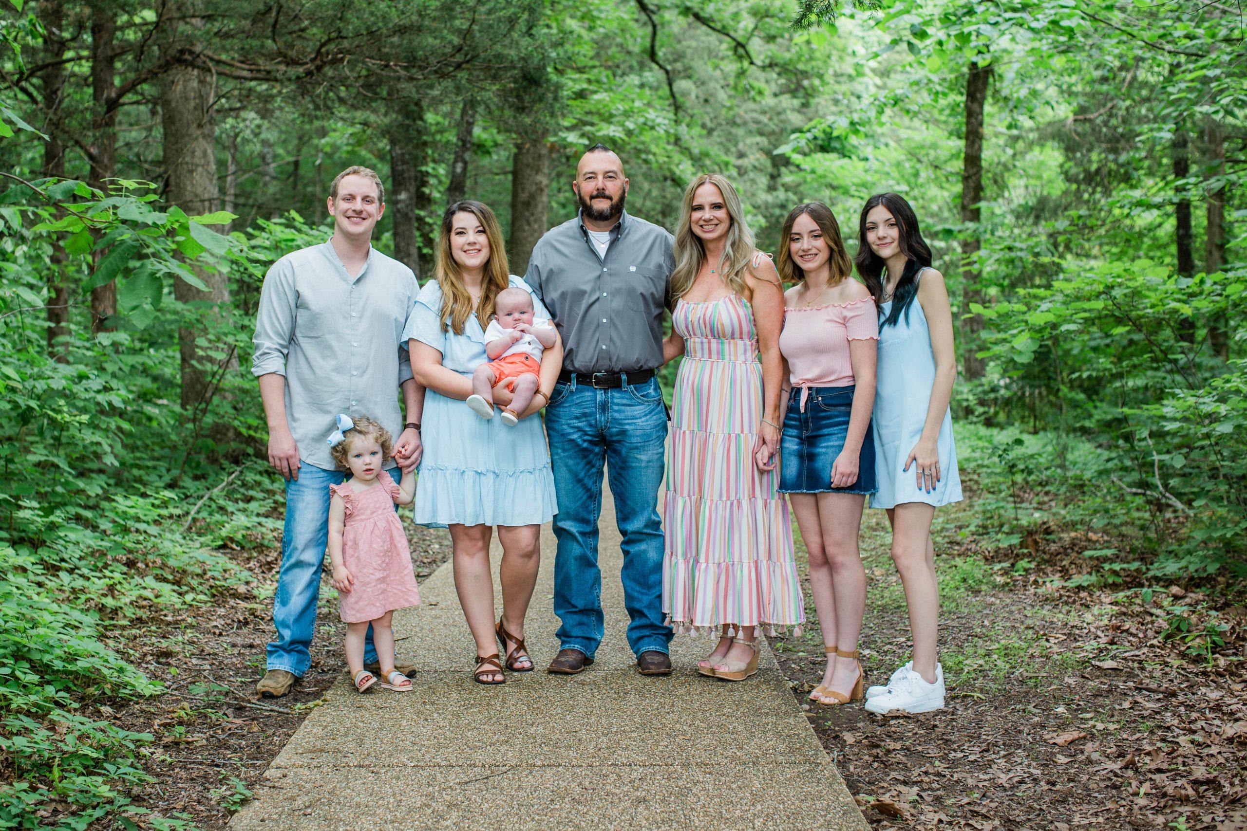 extended family photos Branson